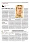 Página publicada en el diario El Mundo