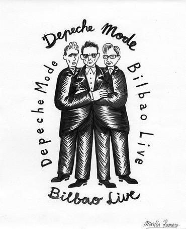 Depeche Mode Bilbao Live