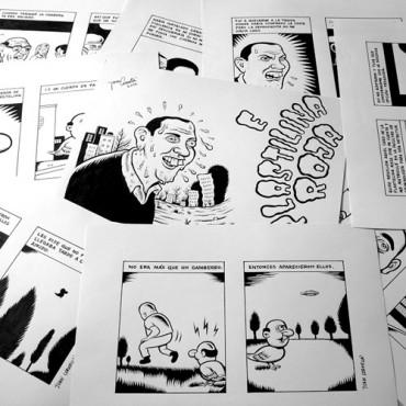 Plastelina Roja (ROJO-Autsaider Cómics) 9 dibujos