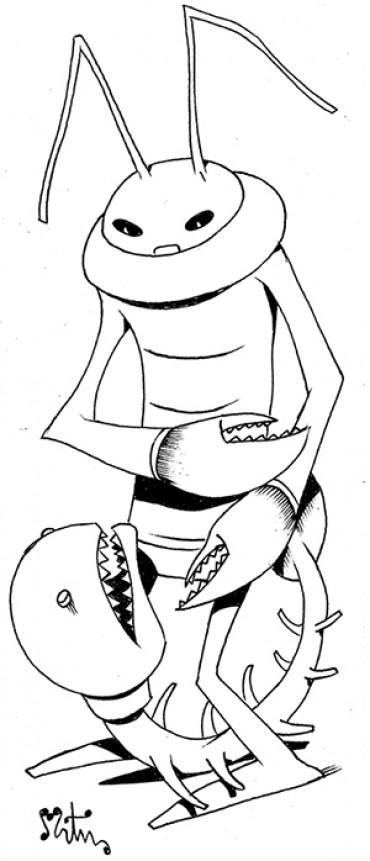Inktober 10